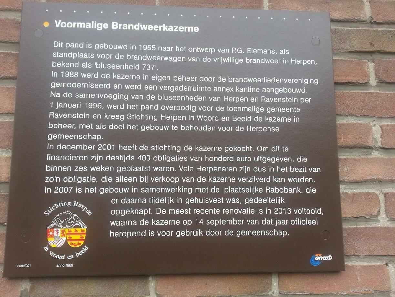 Aankoop voormalig Brandweerkazerne door Stichting