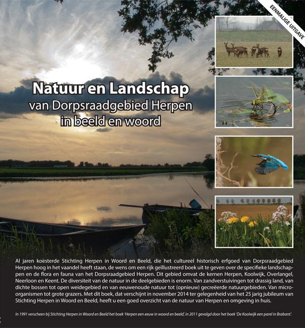 Uitgave boek: Natuur en landschap dorpsraad gebied Herpen in beeld en woord
